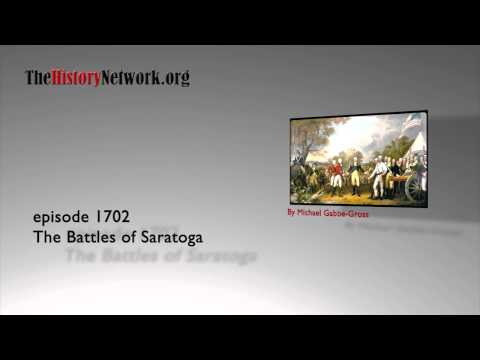 1702 The Battles of Saratoga