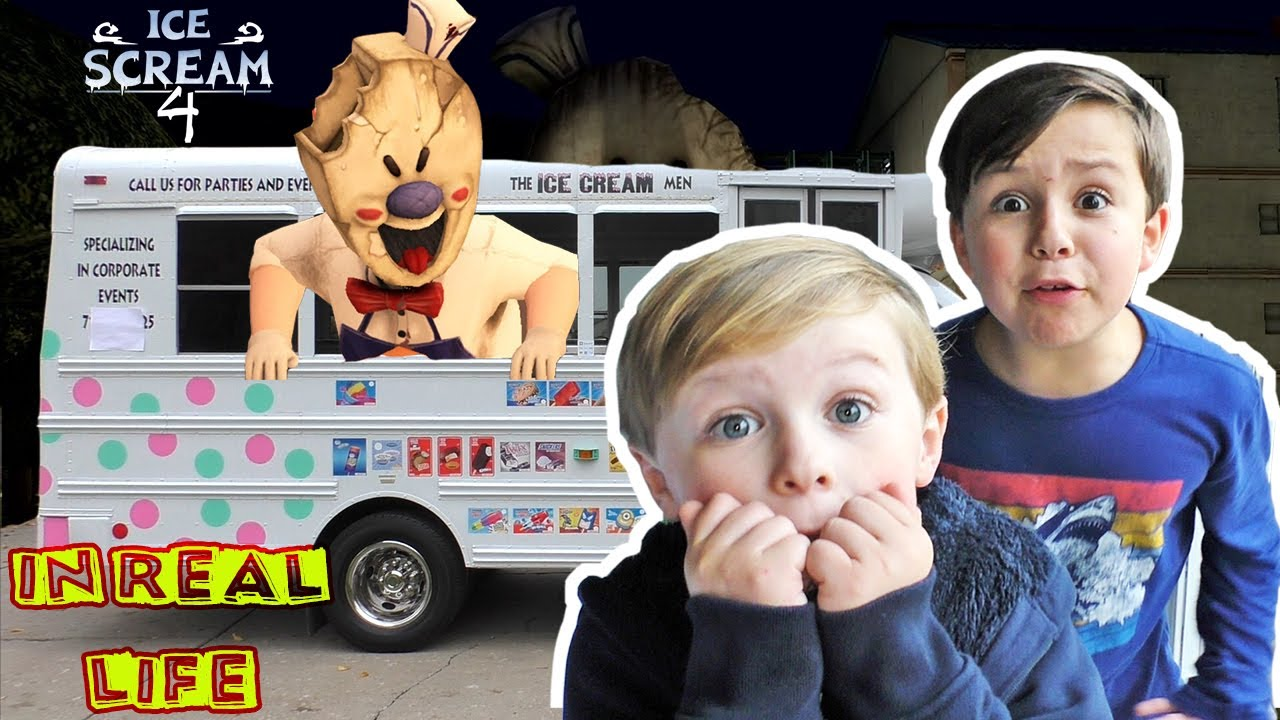 Download Ice Scream 4 in Real Life Skit!