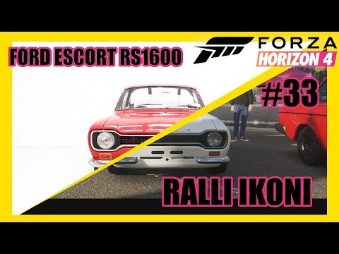 Ford Escort RS1600 | Forza Horizon 4 #33 Thrustmaster T300RS thumbnail