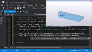 Tekla Open API: How to create an app that creates drawings