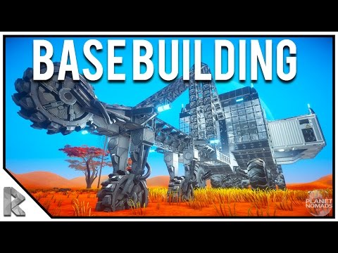 Make NEW SPACE SURVIVAL GAME, BASE BUILDING - Planet Nomads Early Access Gameplay #1 Images