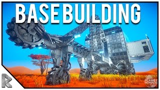 NEW SPACE SURVIVAL GAME, BASE BUILDING - Planet Nomads Early Access Gameplay #1
