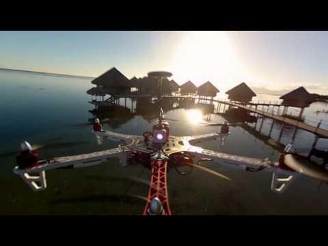 DJI Flame Wheel F550 Fly With WooKong-M - YouTube