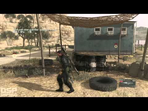 Metal Gear Solid V playthrough pt46 - Returning to Mission 9 to BLOW STUFF UP!