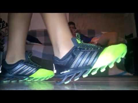 fb1beb143935 Review Adidas Springblade Drive 2.0 - YouTube