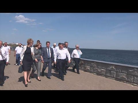 Андрей Бочаров: принято решение о строительстве современного речного порта в Камышине