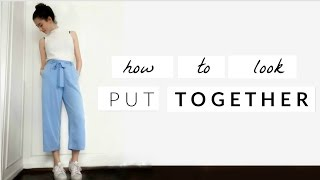 How to look more put together | Last minute tricks | Simple Victoria