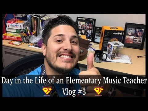 Day in the Life of an Elementary Music Teacher: Vlog #3