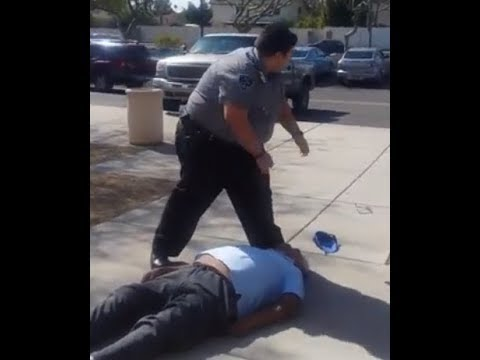 Arizona Security Guards Forcibly Remove Disabled Elderly Man From Federal Building