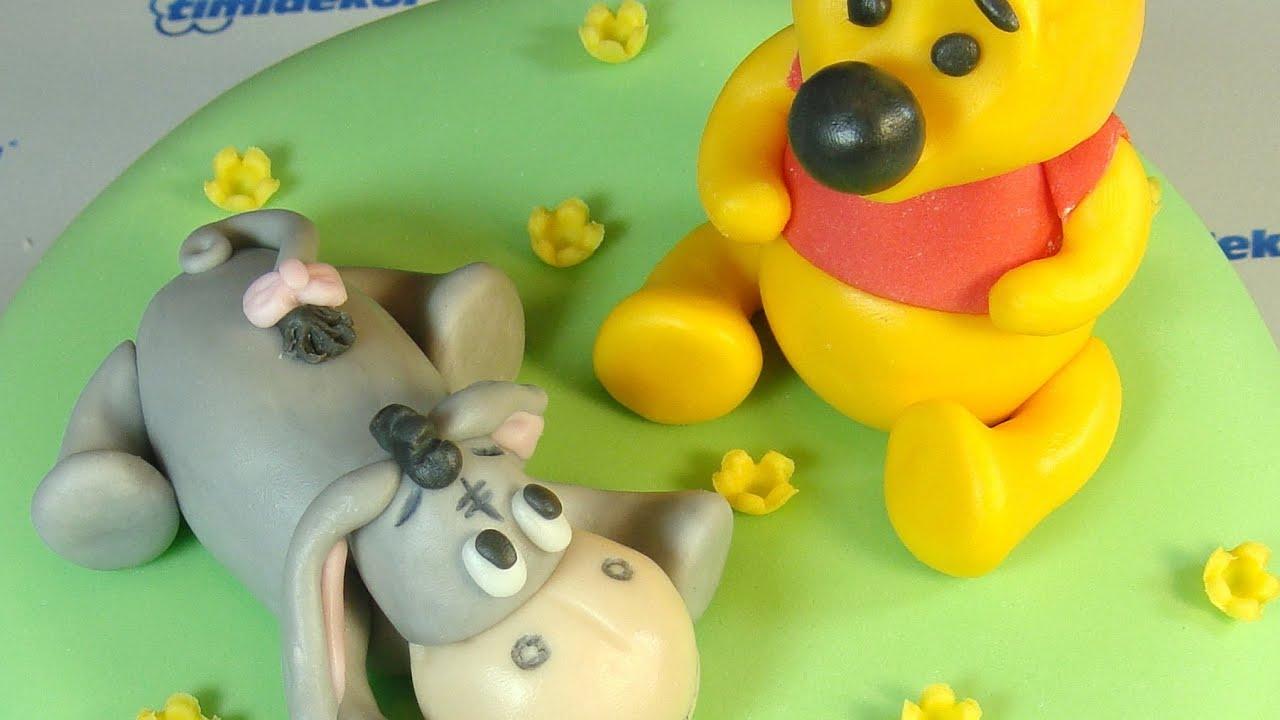 Winnie The Pooh Cake Topper Tutorial