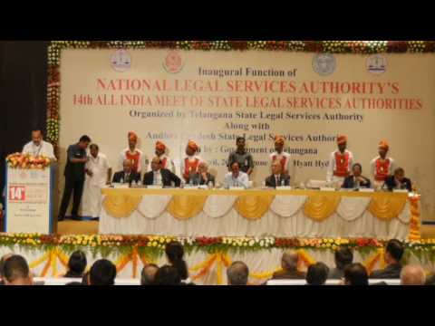 14th all india meet of state legal services authorities in Hyderabad-2