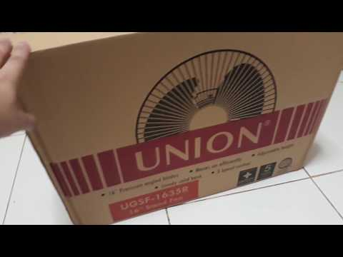 Safe ba bumili ng appliance sa Lazada? (Union Electric Fan Unboxing)