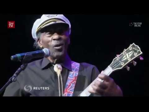 Rock'n'roll pioneer Chuck Berry dies at 90
