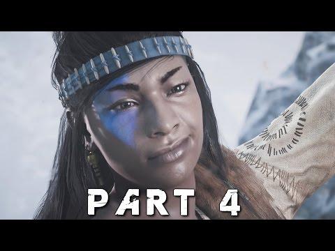 HORIZON ZERO DAWN Walkthrough Gameplay Part 4 - The Proving (PS4 Pro)