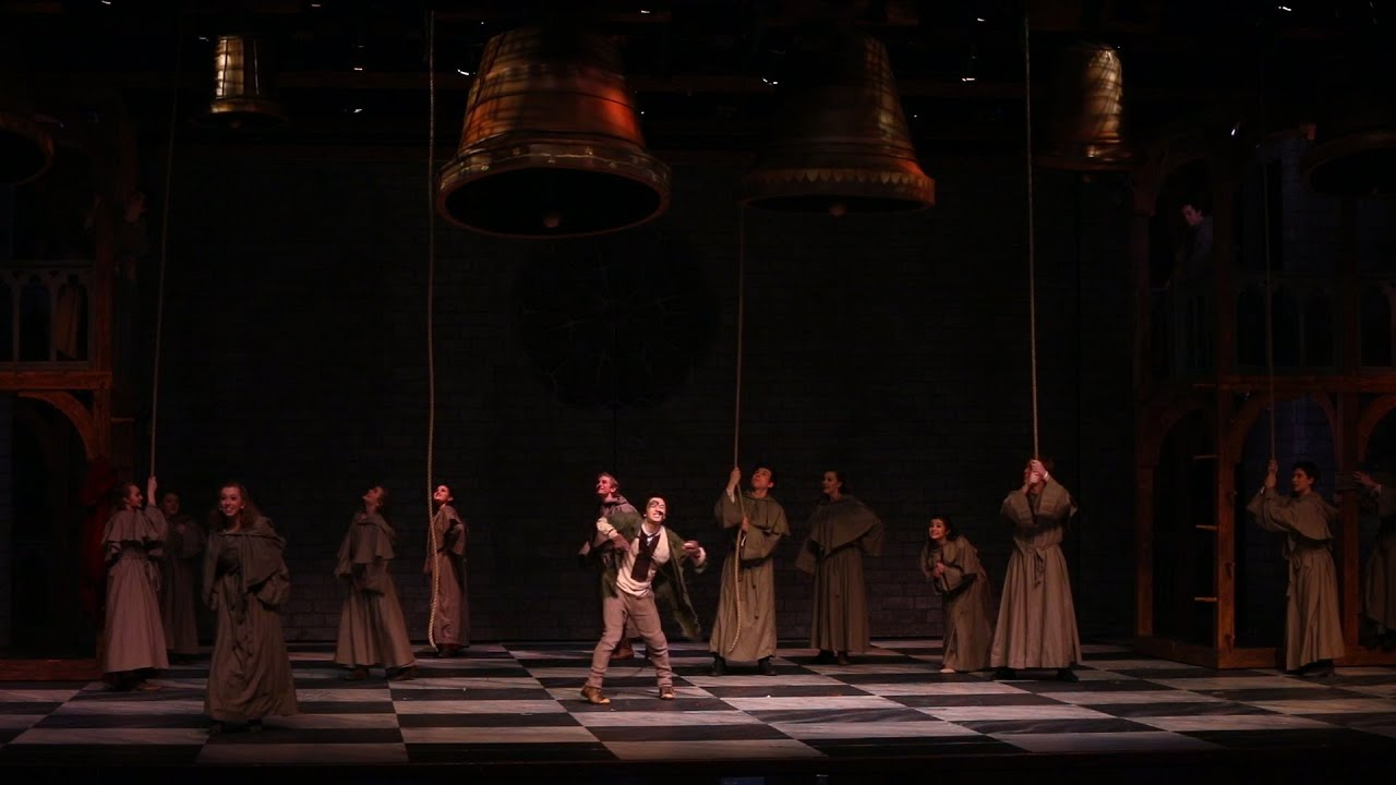 parkland high school rehearse the hunchback of notre dame youtube
