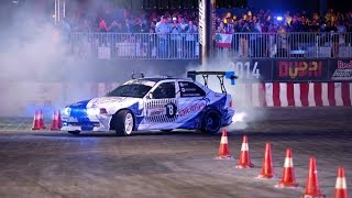 High Speed Drifting in Dubai - Red Bull Car Park Drift Grand Final 2014