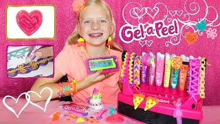 DIY Craft Time Gel-a-Peel || 3D Design Station, Making Earrings & Jewelry out of GEL!