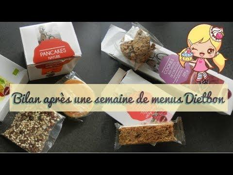 Bilan Apres Une Semaine De Menus Dietbon Youtube