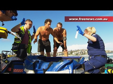 Major rescue and medical response at Bondi Beach after drowning