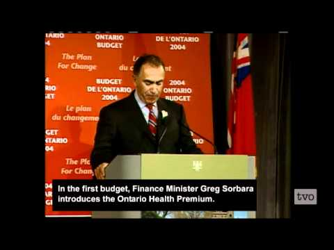 A Political History of Ontario Premier Dalton McGuinty