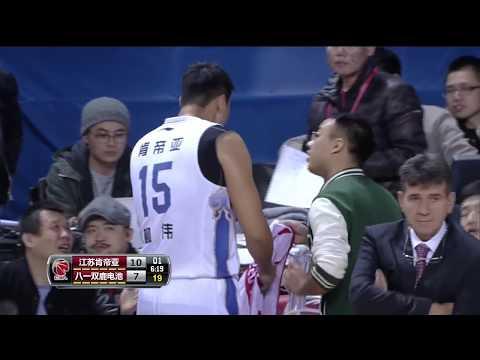 Greg Oden Full Game   Jiangsu vs Bayi   CBA Round 11