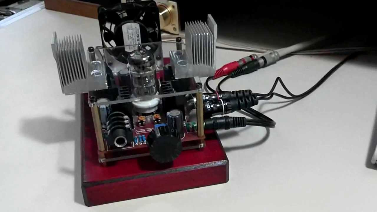 6n11 Class A Hybrid Tube Headphone Amplifier One Year Later