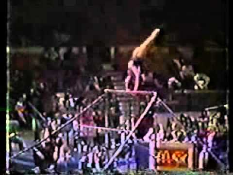 mary lou retton 1983 american cup uneven bars