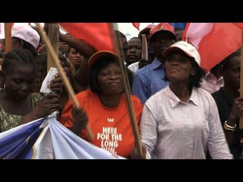 Thousands rally in DRC capital against Kabila seeking 3rd term