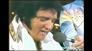 Элвис Пресли - захватывающее выступление за 6 недель до смерти.