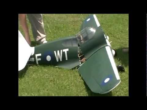 Curtiss P-40 Crash