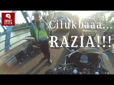Motovlog #3 Sunlight Super,Kuliner Tangerang+Razia!!!