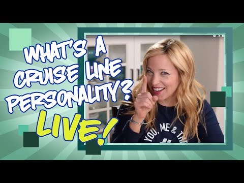 Cruise Line Personalities, and Cruise Tips Live