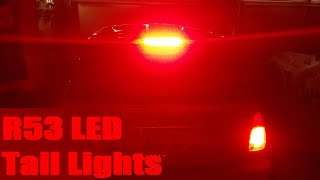 homepage tile video photo for R53 Mini Cooper S LED Tail Lights DIY
