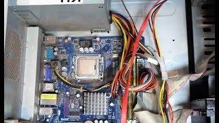 как заменить центральный процессор компьютера Своими руками