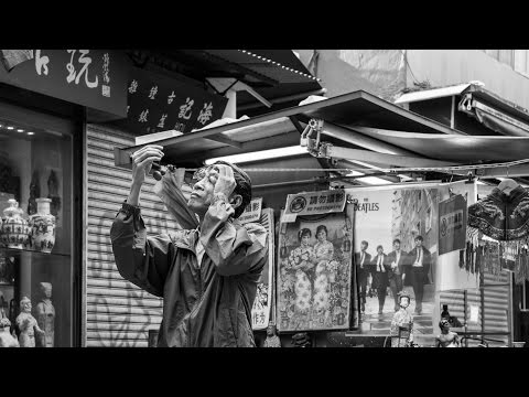 Hong Kong Street Photography POV GoPro Hero 5 Cat Street Antiques