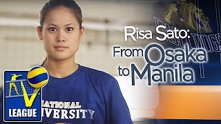 RISA SATO | NU | Player's Profile | Shakey's V-League Collegiate Conference