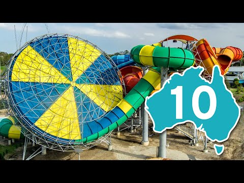 TOP 10 - Most Extreme Water Slides In Australia