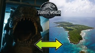Where Will Rexy & The Dinosaurs Go After Being Sold? New Private Islands? | Jurassic World 2 Theory