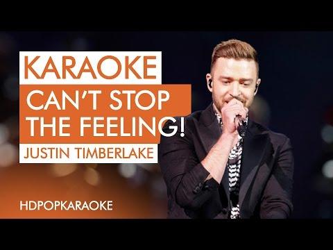Justin Timberlake - CAN'T STOP THE FEELING! (BGV) [Karaoke / Instrumental]