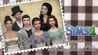 The Sims 4 - Wyzwanie Dziesięcioleci #26 - Ślub Rozalii i Tadeusza