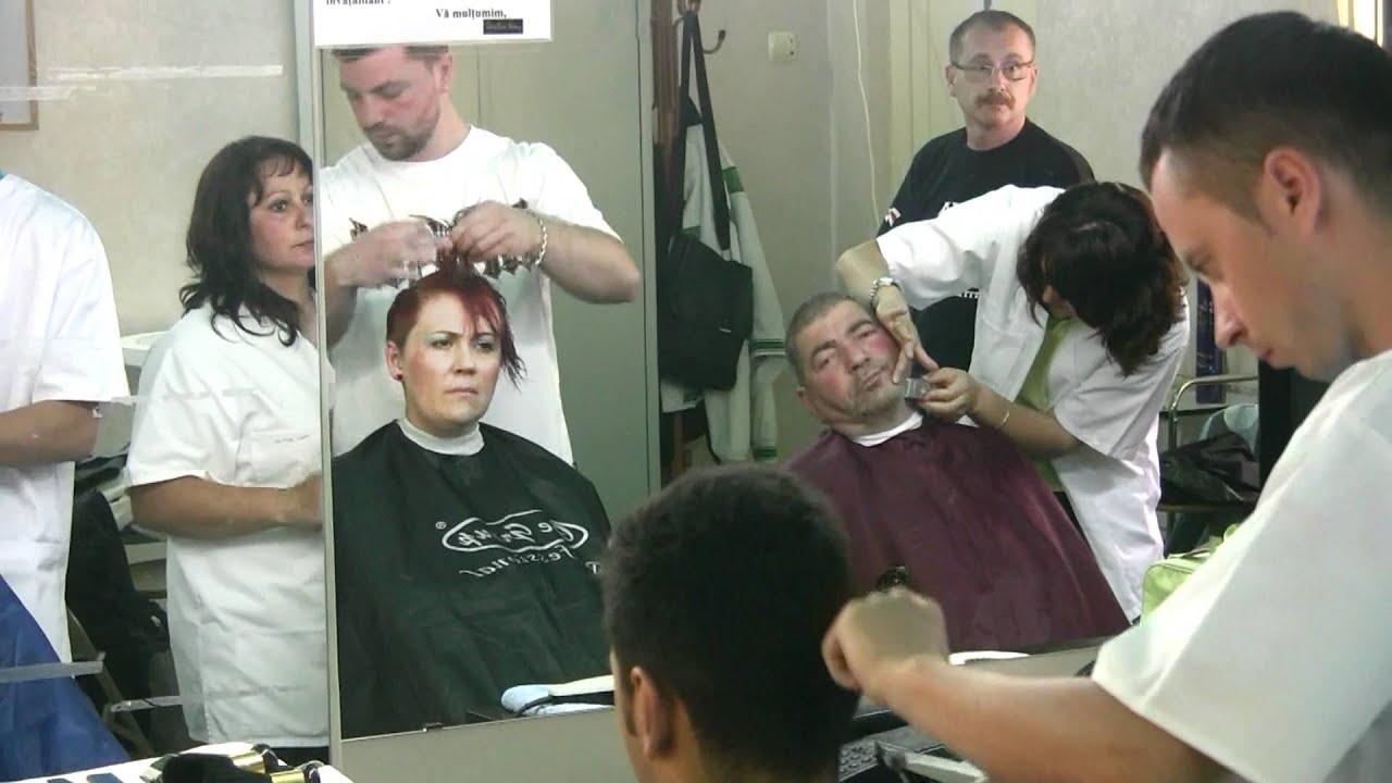 Cursuri Initiere In Frizerie Scoala Christine Valmy Bucuresti Youtube