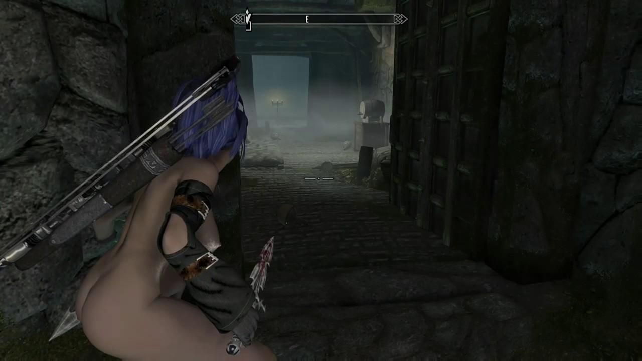 Skyrim[XB1] Naked Stealth 06 - YouTube