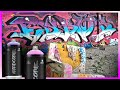 Eskos Art Graffiti Wall Spray // Graff sur Mur / MTN 94 - Hardcore //