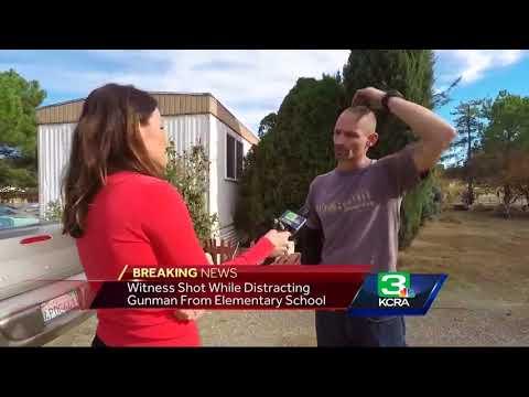 Man runs toward gunfire as shooter opens fire at Tehama Co. school