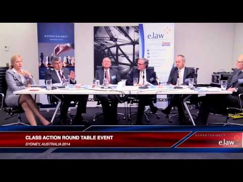 e.law & ExpertsDirect Class Action Round Table - full length video