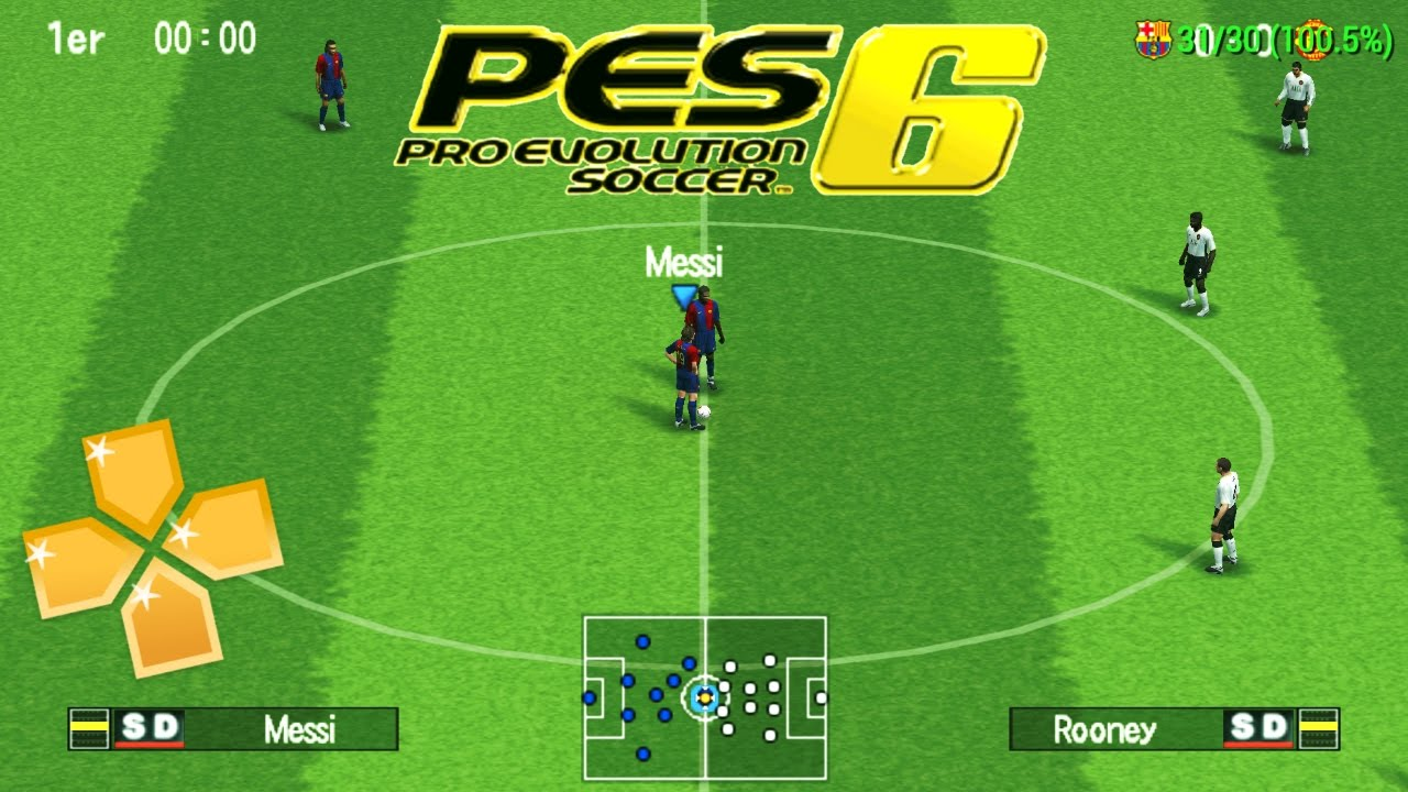PES 6 PARA ANDROID VIA PPSSPP & PSP