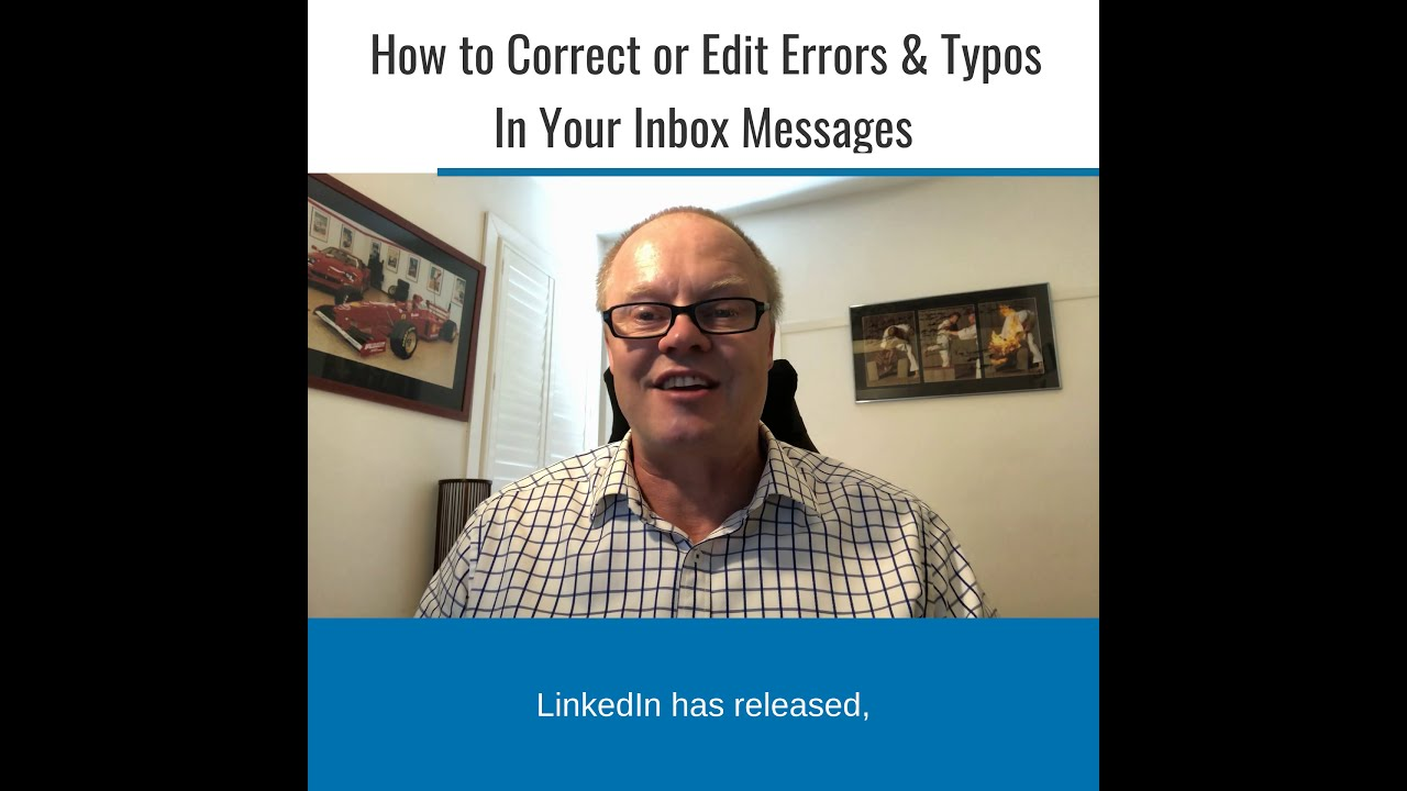 How to Correct or Edit Errors & Typos In Your Inbox Messages.