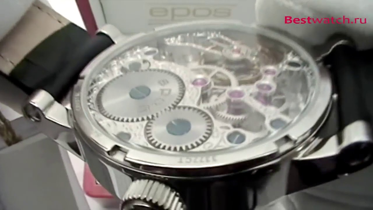 e03466c5 Обзор мужских часов Epos Sophistiquee 3377 195 20 58 25 - YouTube