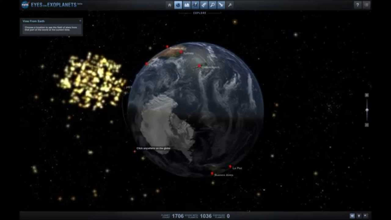 NASA's Eyes on Exoplanets - YouTube