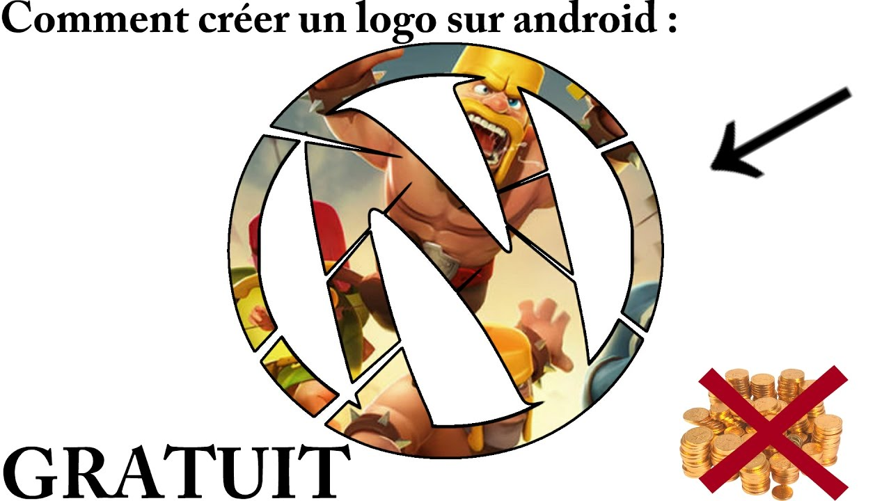 photo creer logo gratuit android